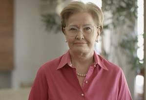 A senadora Ana Amélia (PP-RS), candidata a vice na chapa de Geraldo Alckmin Foto: Reprodução