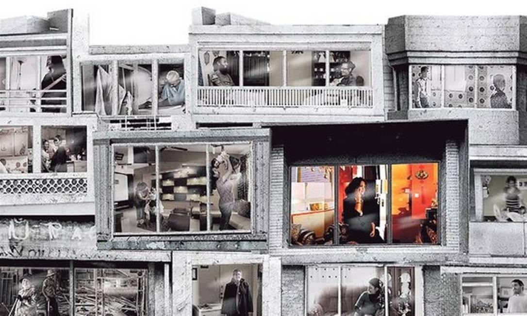 """Imagem de divulgação da instalação """"Highrise / Out my window"""" Foto: Divulgação"""