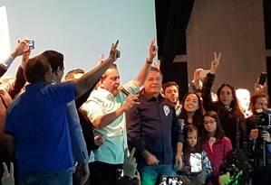 Convenção do Podemos oficializa candidatura do senador Álvaro Dias à Presidência Foto: Gustavo Schmitt/ Agência O GLOBO