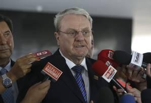 O ex-prefeito Márcio Lacerda, durane entrevista Foto: Valter Campanato/Agência Brasil/29-12-2016