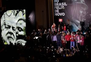 Convenção do PT referenda candidatura de Lula a presidente Foto: NACHO DOCE / REUTERS