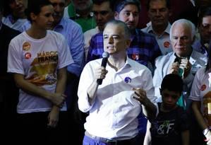 Márcio França é oficializado candidato do PSB ao governo de São Paulo Foto: Aloisio Mauricio/Fotoarena