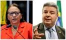 O tucano Anastasia é candidato em Minas, e a petista Fátima Bezerra, no Rio Grande do Norte Foto: Arquivo O GLOBO