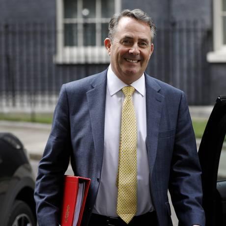 O ministro de Comércio britânico, Liam Fox Foto: TOLGA AKMEN / AFP