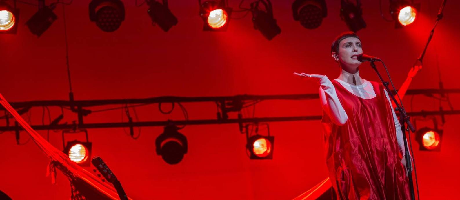 Adriana Calcanhotto no show