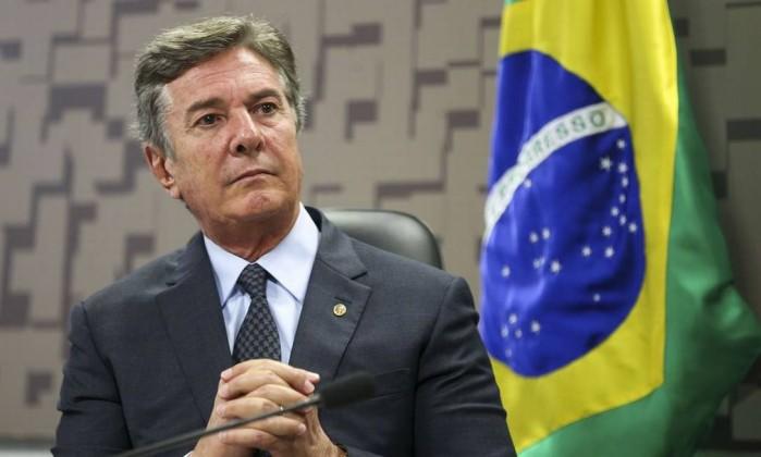 O senador Fernando Collor de Mello Foto: Marcelo Camargo / Agência Brasil