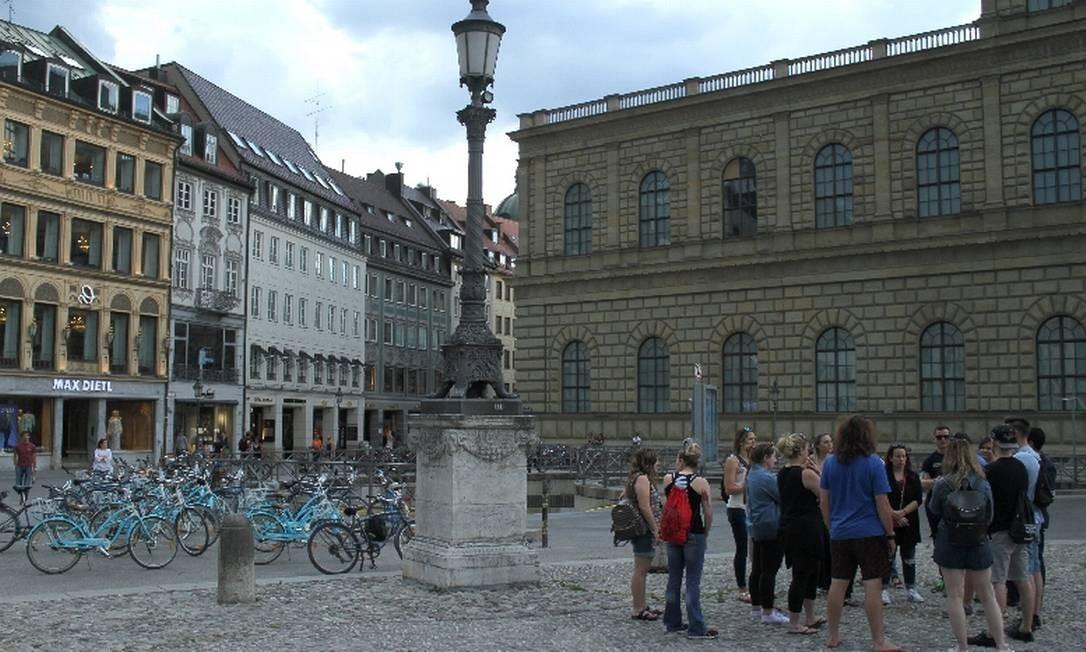 Tour de bicicletas em Munique Foto: Eduardo Vessoni