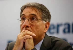 Mesmo sem apoio formal do MDB, governador Fernando Pimentel (PT) terá apoio de emedebistas Foto: Pablo Jacob / Agência O Globo