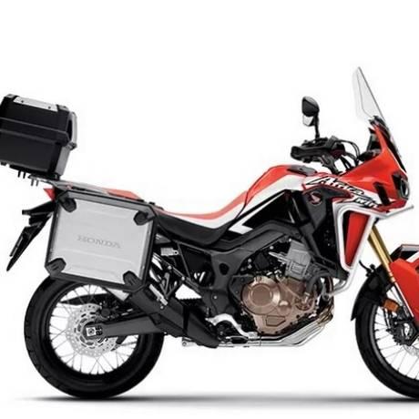 Com a motocicleta em movimento ou durante o acionamento do cavalete central, anel elástico poderá se romper Foto: Divulgação