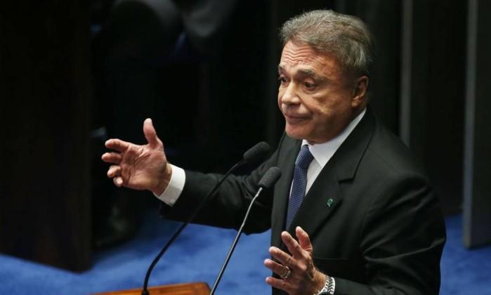 O senador Alvaro Dias Foto: Fabio Rodrigues Pozzebom / Agência Brasil