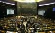 A Câmara dos Deputados em julho de 2018 Foto: Ailton de Freitas / Agência O Globo