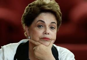 A ex-presidente Dilma Rousseff Foto: Ueslei Marcelino / Reuters