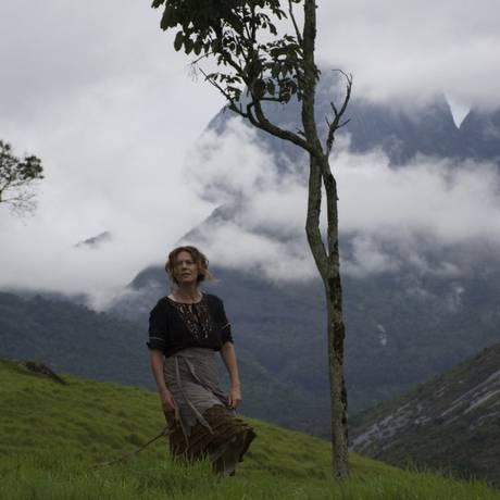 Patrícia Pilar em cena no filme