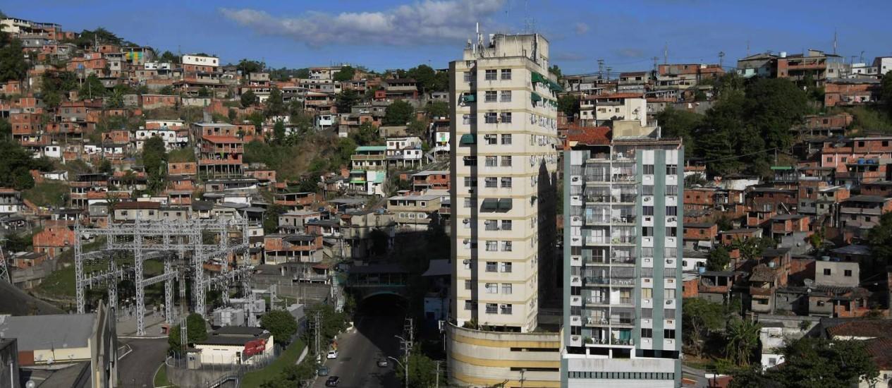 Morro do Cavalão, em Niterói (Arquivo) Foto: Fábio Guimarães / Agência O Globo