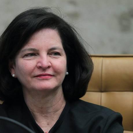 A procuradora-geral da República, Raquel Dodge, durante sessão do Supremo Foto: Ailton de Freitas / Agência O Globo