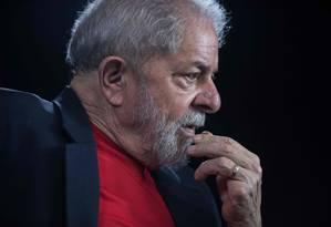 Ex-presidente da República Luiz Inácio Lula da Silva Foto: NELSON ALMEIDA / AFP