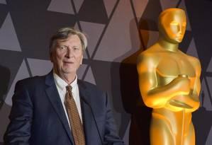 John Bailey e o Oscar: mudanças na estrutura da premiação buscam aumentar audiência da transmissão Foto: Rodin Eckenroth / Agência O Globo