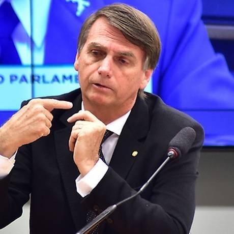 Jair Bolsonaro Foto: Zeca Ribeiro / Agência Câmara dos Deputados