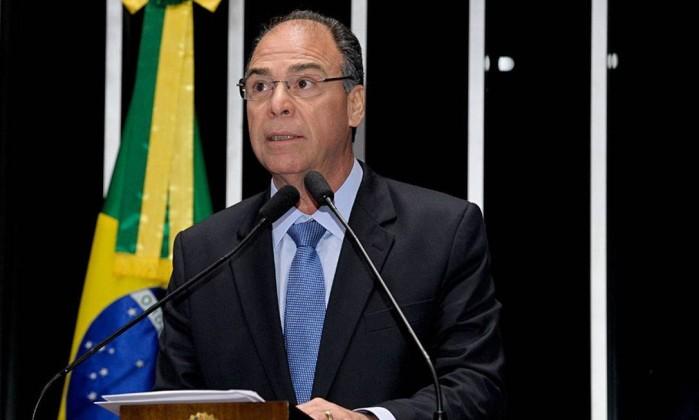 O senador Fernando Bezerra Foto: Waldemir Barreto / Agência Senado