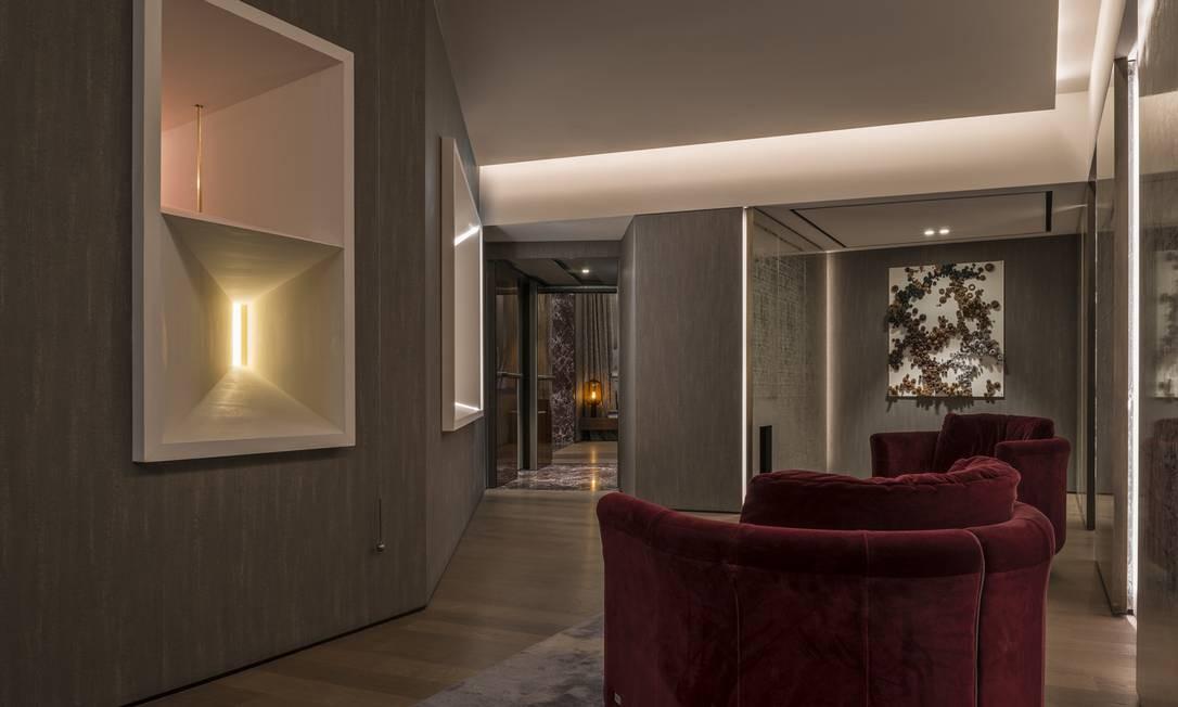 Detalhe do Palazzo Fendi Foto: Divulgação