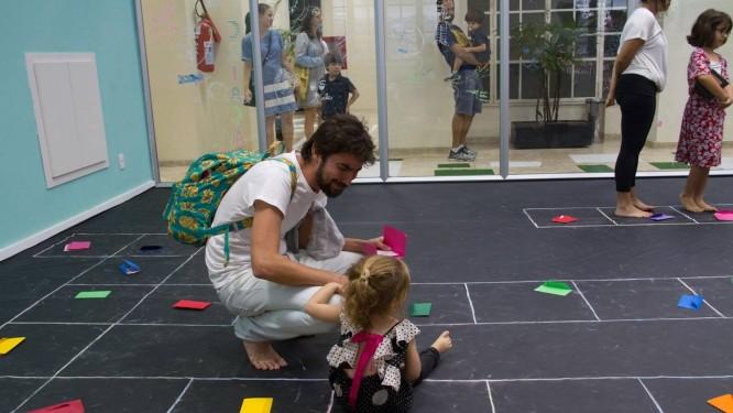 O programa CCBB Educativo vai promover nos dias 11 e 12 o Lugar de Criação - Bateconto entre pais e crianças pequenas. Foto: Divulgação