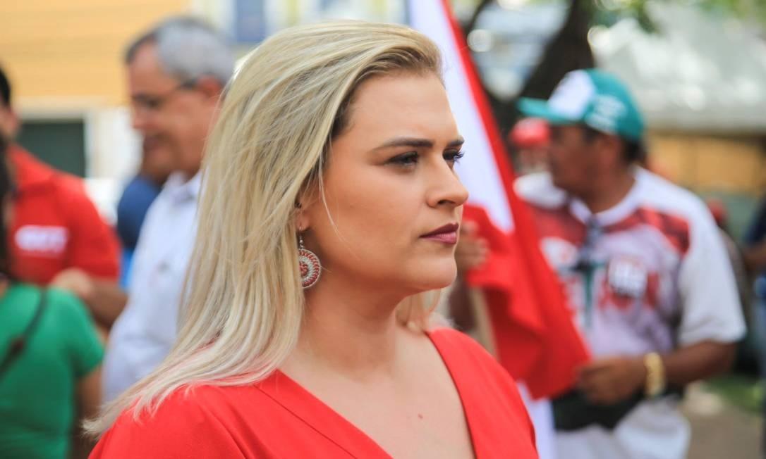 Aos 34 anos, com três vitórias sucessivas como vereadora do Recife, Marília Arraes estava em triplo empate na busca docargo de governadora de Pernambuco Foto: Arthur Marrocos