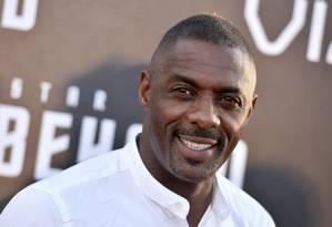 O ator Idris Elba Foto: Jordan Strauss/AP