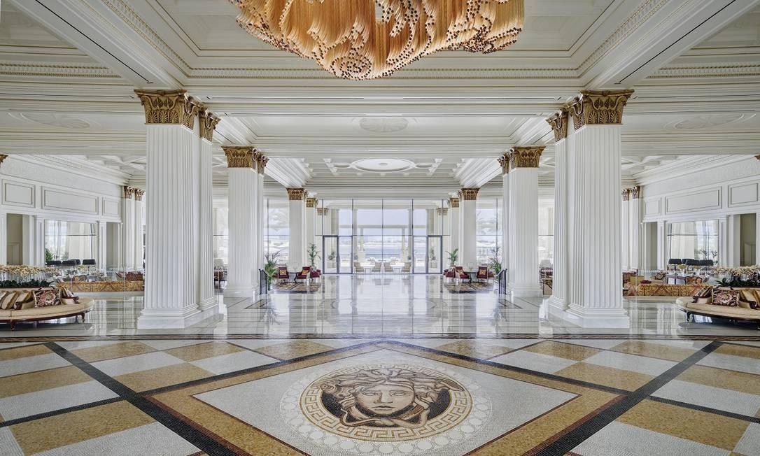 Palazzo Versace, em Dubai Foto: Divulgação