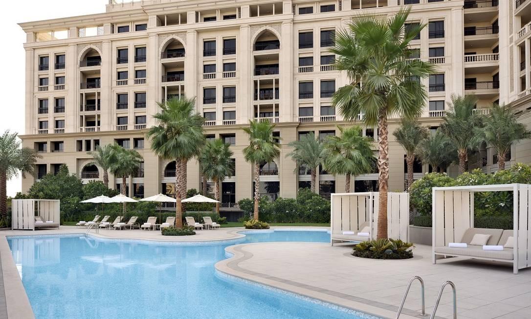 Palazzo Versace, em Dubai Divulgação