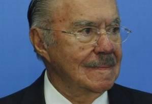 José Sarney Foto: Givaldo Barbosa / Agência O Globo