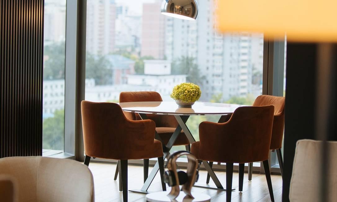 O hotel da Bulgari, em Pequim Foto: Divulgação