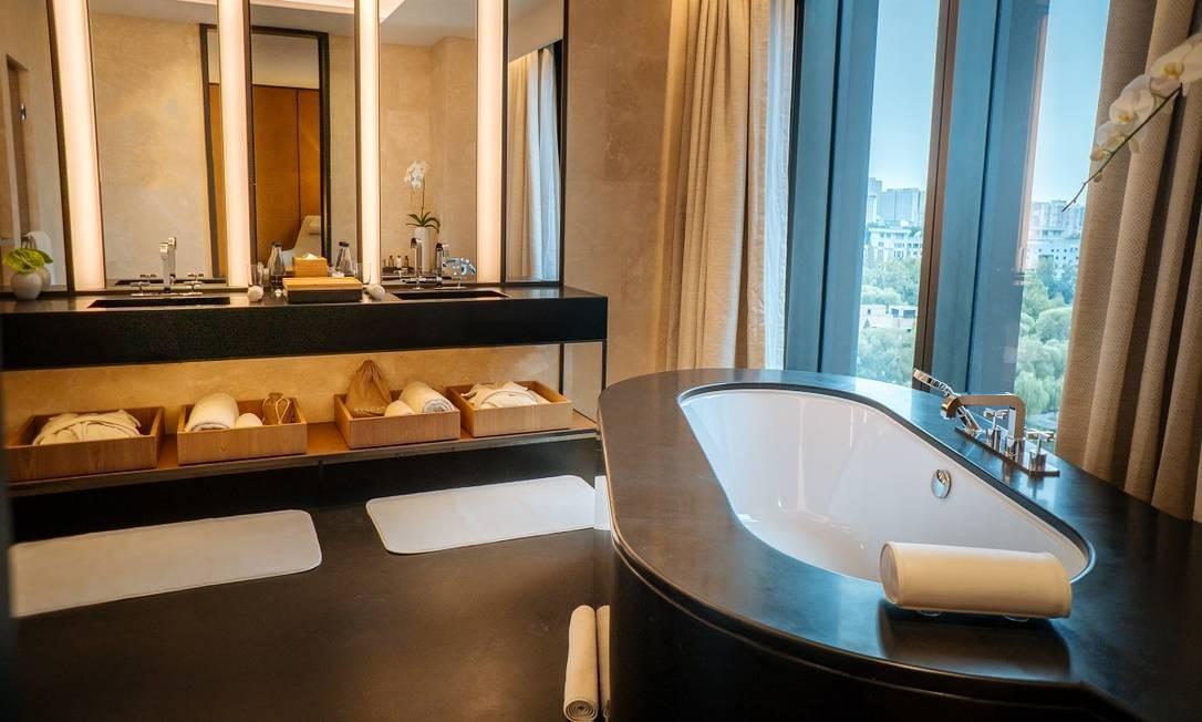 O hotel da Bulgari, em Pequim Divulgação