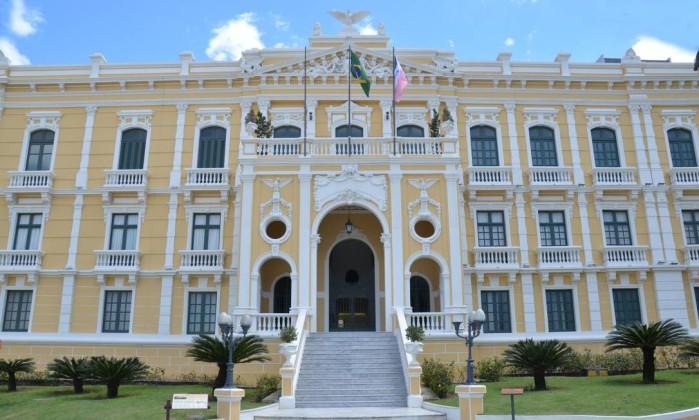 Palácio Anchieta, sede do governo capixaba Foto: Secom/ES