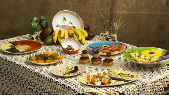 Banquete brasileiro Foto: Mônica Imbuzeiro / Agência O Globo