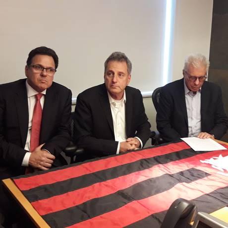 Rodolfo Landim e Rodrigo Dunshee de Abranches formam chapa na eleição do Flamengo Foto: Igor Siqueira / Igor Siqueira