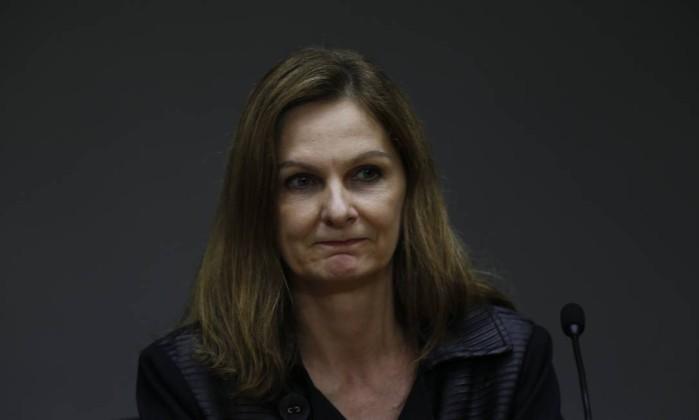 Ana Paula Vescovi, Secretária-Executiva do Ministério da Fazenda Foto: Michel Filho / Agência O Globo