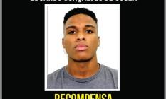 Eduardo Gonçalves de Souza, de 19 anos, é suspeito de ter estuprado uma criança de apenas 4 anos na Taquara, Zona Oeste do Rio Foto: Divulgaçao / Disque denuncia