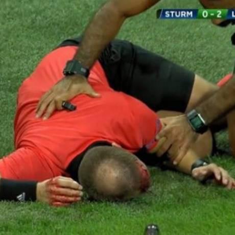 Fredrik Klyver foi ferido na cabeça Foto: Reprodução