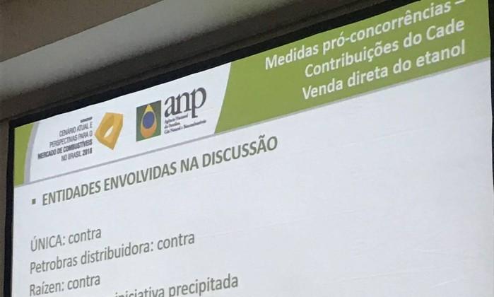 Evento da ANP em Búzios (RJ) Foto: Reprodução / Reprodução