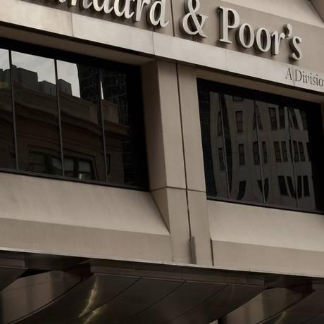 Fachada da S&P em Nova York Foto: Scott Eells