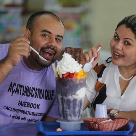 Rodrigo da Silva com a esposa Maria José Magalhães Foto: Guilherme Pinto / Agência O Globo