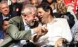 Lula e Fernando Haddad Foto: Reprodução / Facebook