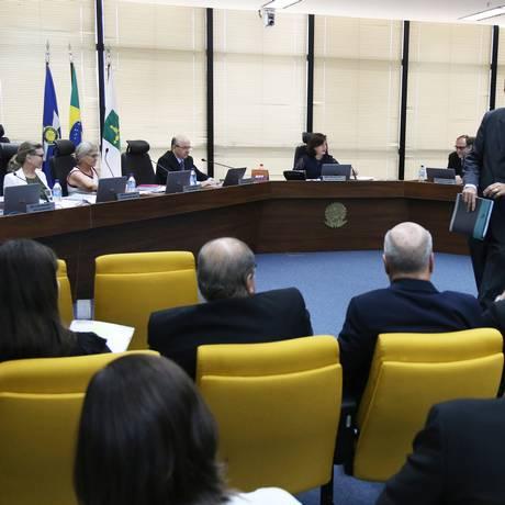 Reunião do Conselho Superior do Ministério Público nesta sexta-feira Foto: Givaldo Barbosa / Agência O Globo