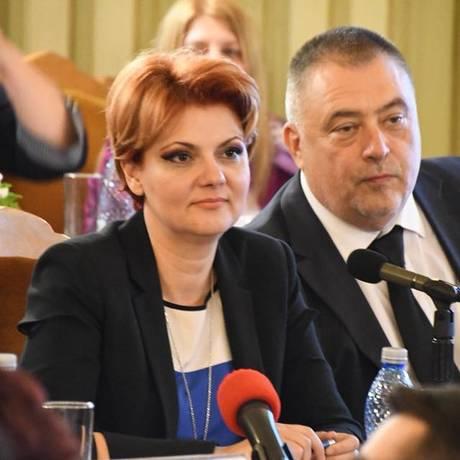 A ministra do Trabalho romena, Olguta Vasilescu: plano de dobrar aposentadoria nos próximos quatro anos foi classificado de