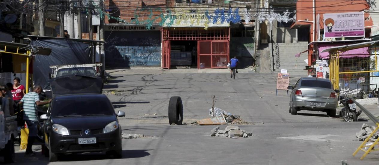 A Favela Vila Kennedy Foto: Pablo Jacob / Agência O Globo / 16.07.2018