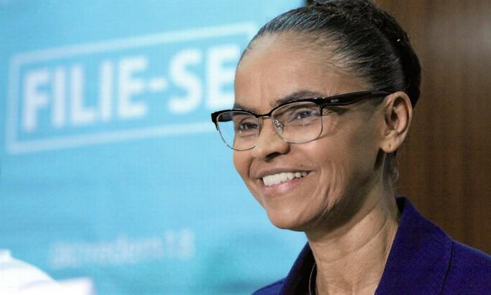 A pré-candidata Marina Silva Foto: Humberto Salles / Futura Press