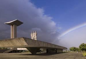 Monumento aos Pracinhas. O local abriga museu e mausoléu abertos à visitação Foto: Leo Martins / Agência O Globo