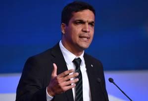 Cabo Daciolo participa de debate com presidenciáveis na 'Band' Foto: Nelson Almeida/AFP/09-08-2018