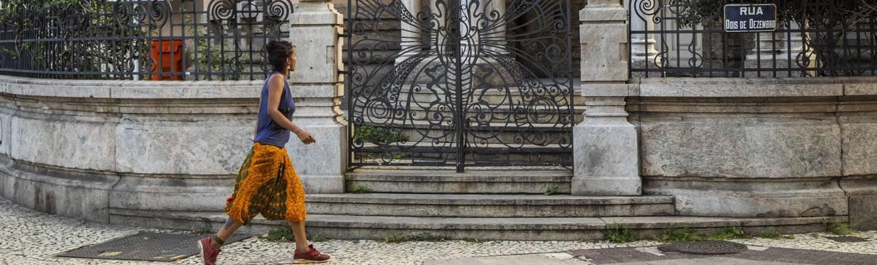 Inaugurado em 1918, o Castelinho do Flamengo nasceu para ser a residência do Comendador Joaquim da Silva Cardoso e de sua mulher, Carolina Foto: Bárbara Lopes / Agência O Globo
