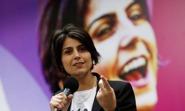 Manuela D'Avila, do PC do B Foto: Adriano Machado / Reuters